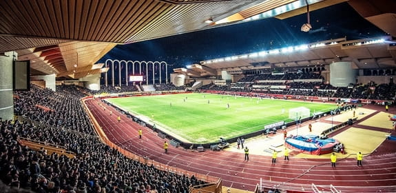 Stadium of AS Monaco